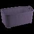 Корзина Flexi 32 л тёмно-фиолетовая