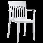 Кресло Papatya Eden-K белое