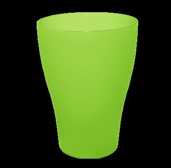 Набор рюмок 6 штук по 0,075 литра прозрачно-зеленого цвета