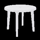 Стол круглый белый диаметр 90 см
