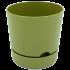 Горщик для квітів Begonya 1,8 л зелений