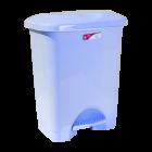 Відро для сміття з педаллю Irak Plastik Stella 45л блакитне