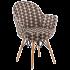 Кресло Tilia Gora-V ножки буковые, сиденье с тканью ARTNUVO 46094 - V5