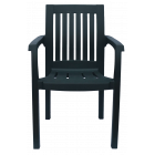 Кресло пластиковое Базилик зеленое