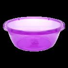 Таз круглый 10 л фиолетовый
