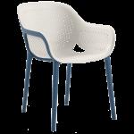 Крісло Tilia Atra холодний сірий - синій