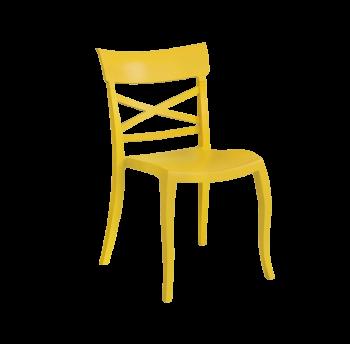 Стілець Papatya XSera-S канарково-жовтий