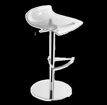 Барное кресло Papatya X-Treme B прозрачно-чистый