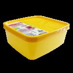 Бокс для морозильной камеры 0,65 л узкий Alaska желтый
