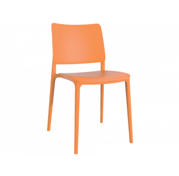 Стул Papatya Joy-S оранжевый