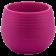 Горщик для квітів Colorful 0,55 л фіолетовий