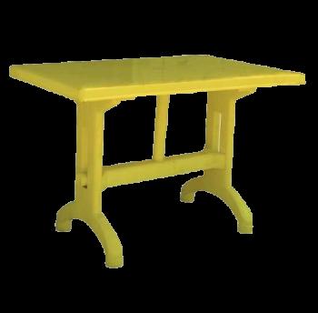 Стол прямоугольный 924 NР желтый