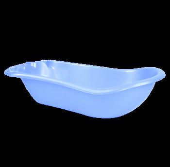 Ванночка детская пластиковая 40 л голубой перламут