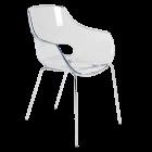 Крісло Papatya Opal прозоро-чисте