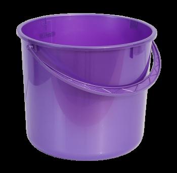 Ведро 8 л круглое фиолетовое