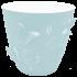 Горщик для квітів 3D 5,3 л світло-блакитний