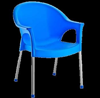 Крісло Irak Plastik Bergama блакитний