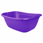 Таз прямоугольный 22л фиолетово-пурпурный