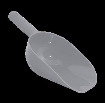 Совок для сыпучих продуктов серый