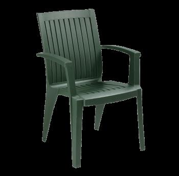 Крісло Papatya Алізе темно-зелений