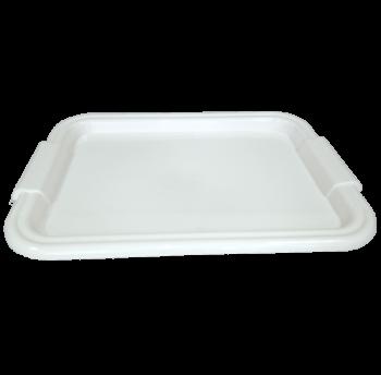 Поднос прямоугольный Радуга белый
