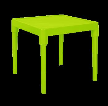 Стол детский квадратный оливкового цвета