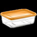 Контейнер Flexy Box прямоугольный 0,8 л прозрачный