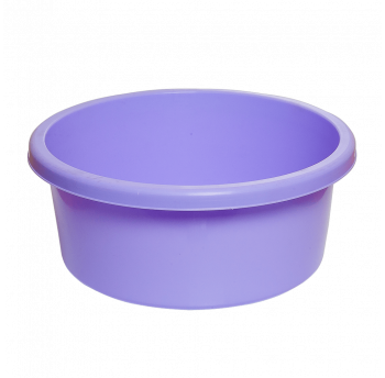 Таз круглый пищевой 6 л фиолетовый