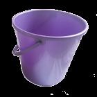 Ведро 18 л круглое фиолетовое
