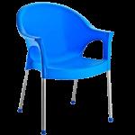 Кресло Irak Plastik Bergama голубой