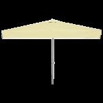 Зонт Avocado квадратный 3 x 3 м бежевый, рама коричневая