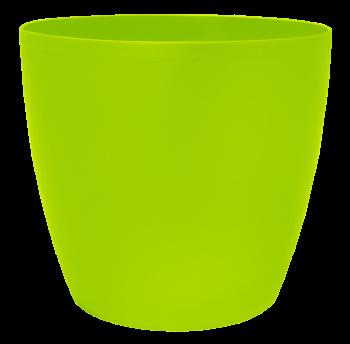 Вазон Матильда 24х22 см салатовый