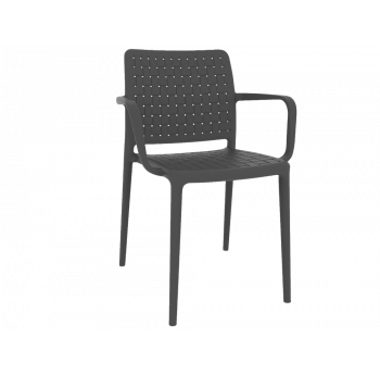 Кресло Papatya Fame-K антрацит