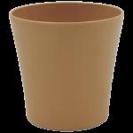 Горшок для цветов Gardenya 4,3 л коричневый