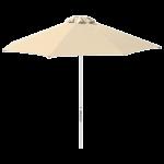 Зонт профессиональный The Umbrella House 2 м круглый KIWI CLIPS без базы