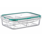 Контейнер Fresh Box 4 отсека 0,25 л+0,25 л+0,25 л+0,25 л прозрачный