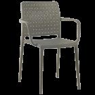 Кресло Papatya Fame-K серо-коричневый