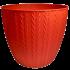 Горщик для квітів Basak 1,5 л червоний