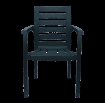 Кресло пластиковое Жимолость зеленое
