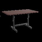 База стола Kross II 60x80x73 см черная Papatya