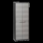 Шкаф 2-х дверный Elegance S Toomax черный серый