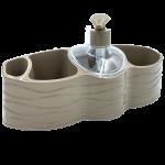 Органайзер для ванної та кухні Planet Welle латте