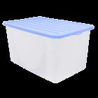 Контейнер для хранения вещей 6 л верх сиреневый, низ прозрачный