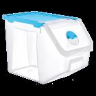 Контейнер 14 л для хранения пищевых продуктов голубой