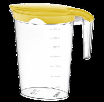 Кувшин Irak Plastik Pinar 2 л желтый прозрачный