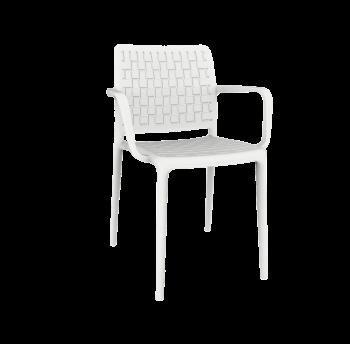 Кресло Papatya Fame-K белое