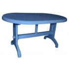 Стол овальный большой 825 NР голубой 880 грн