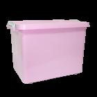 Контейнер на колесах Irak Plastik 33,5 л розовый
