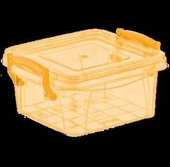 Контейнер на защелках 0,36 л желтый