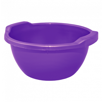 Таз круглый 44л фиолетово-пурпурный